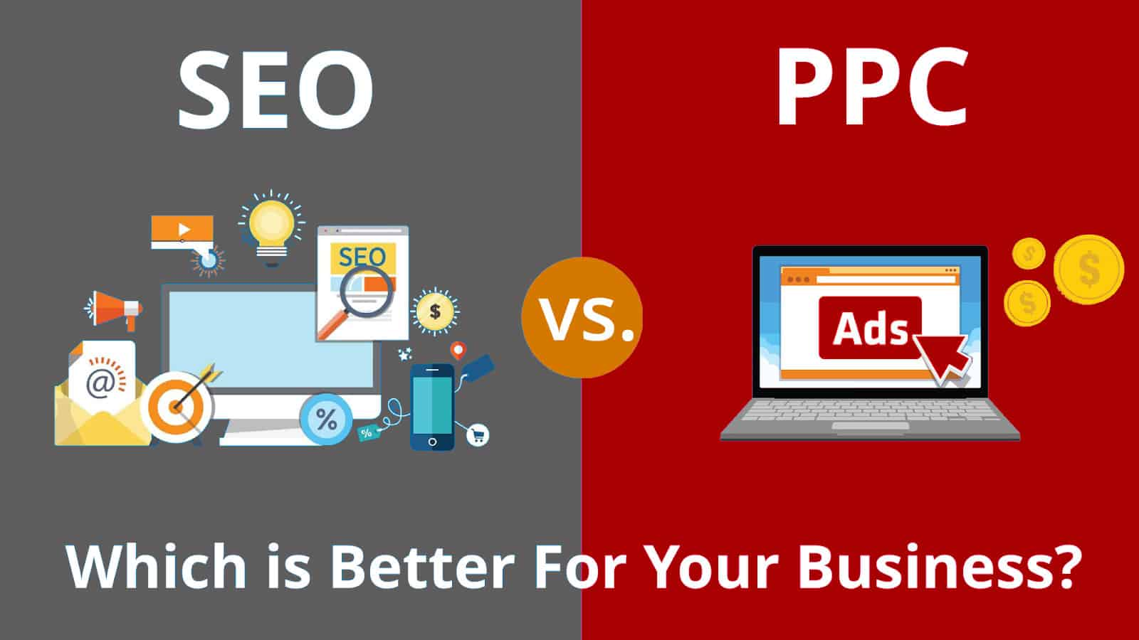 comparison of internet marketing channels seo and pay per click